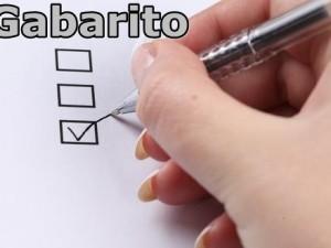 Gabarito Definitivo – Processo Seletivo 001/2015